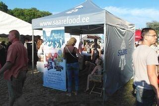 Saarefood.ee pop up teltta