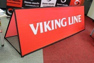 Soft banneri Viking Line 300x100cm