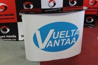 Big exhibition table Vuelta Vantaa