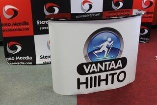 Big exhibition table Vantaa Hiihto