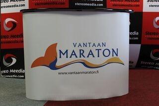 Iso mainospöytä Vantaa Maraton