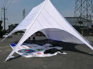 12m double star tent