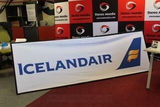 Icelandair 3x1m soft banneri