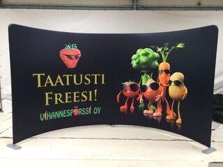 Promotional wall Vihanesspörssi Oy