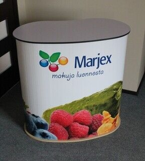 Mainospöytä Marjex