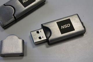 Logoga mälupulk - NSD