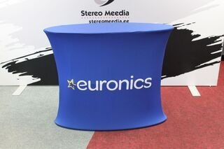 Euronics advertisement table
