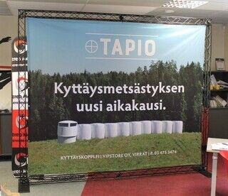 Advertising wall Vipstore