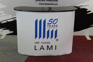 GRP-Doors advertising table